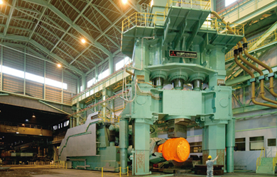 8,000-ton hydraulic press